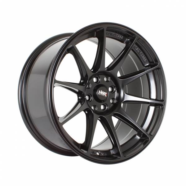 HSR Shinjuku JD8051 Ring 17x7,5-9 H8x100-114.3 ET38-28 Semi Matte Black1