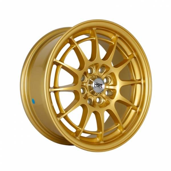 HSR Spider H1093 Ring 15x7 H8x100-114.3 ET38 Gold1