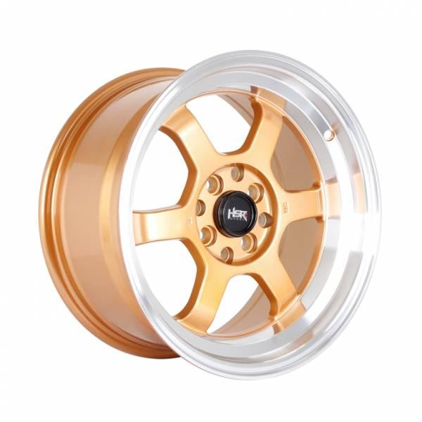 HSR Tokyo Rifu 483 Ring 16x7-8 H8x100-114,3 ET33-20 Pink Gold Machine Lips1