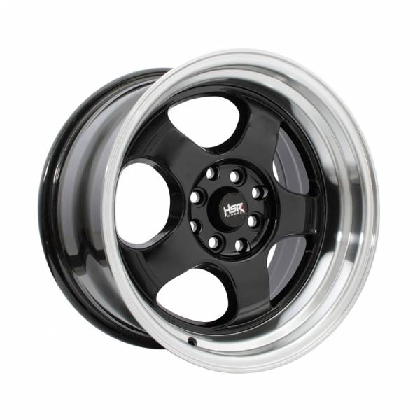 HSR Brisket JD5903 Ring 16x7-8,5 H8x100-114,3 ET40-35 Black Machine Lips1