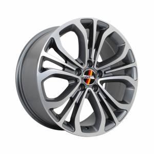 HSR Coupe S520 AM5098 Ring 18x8,5-9,5 H5x112 ET45 Grey Machine Face1