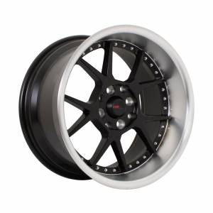HSR Dogiyai H5043 Ring 16x7,5-8,75 H8x100-114,3 ET35-25 Semi Matte Black Machine Lips1