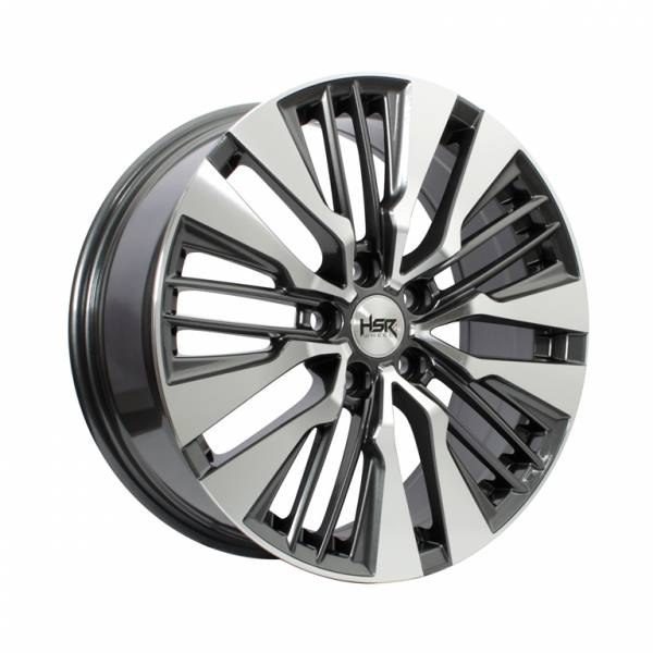 HSR Fairmont JD8382 Ring 18x7,5 H5x114,3 ET45 Dark Grey Machine Face1