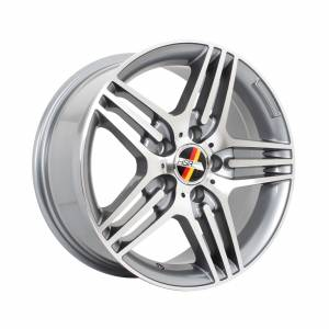 HSR Kanzler AM146 Ring 16x7,5 H5x112 ET35 Grey Machine Face1