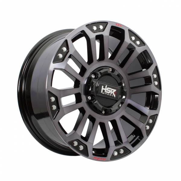 HSR MYTH05 Ring 18x8 H6x139,7 ET20 Black Machine Face Black Oil1