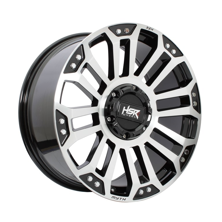 HSR MYTH05 Ring 20x9 H10x114,3-127 ET35 Black Machine Face1