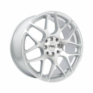 HSR Mandong Ring 17x7,5 H8x100-114,3 ET42 Silver Machine Face1