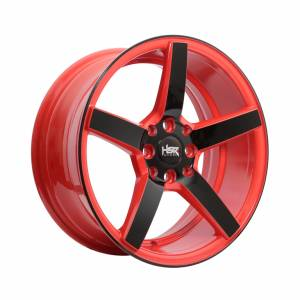 HSR NE3 JD265 Ring 16x7 H8x100-113,.3 ET30 Red Black Face1
