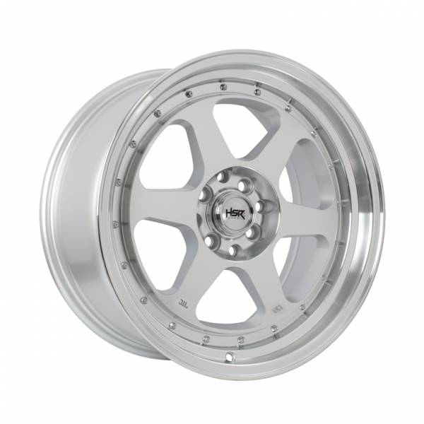 HSR Rumoi JD8659 Ring 17x7,5-8,5 H8x100-114,3 ET45-30 Silver Machine Face Lips1