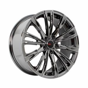 HSR Senorita H PS-6 Ring 18x8 H5x114,3 ET45 Black Machine Chrome1