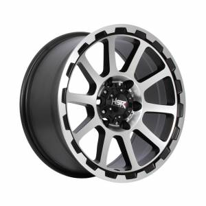 HSR Sidrap 2047 Ring 17x8 H6x139,7 ET20 Semi Matte Black Machine Face1