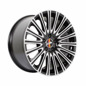 HSR Sosok AM5534 Ring 18x8,5-9,5 H5x112 ET45 Black Machine Face1
