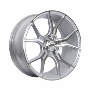 HSR Voodoo Ring 16x7 H8x100-114,3 ET35 Silver Machine Face1
