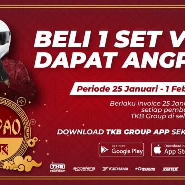 Promo Angpao HSR, Beli 1 Set Velg Langsung Dapat Berbagai Hadiah Menarik dari HSR Wheel!!