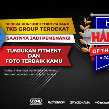 Haiser of the Month, Penghargaan untuk Customer Terbaik HSR Wheel