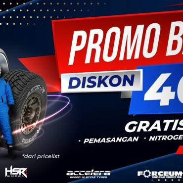 Promo Ban Diskon 40% dari TKB Group Indonesia, Ayo Serbu Sekarang Juga!!!