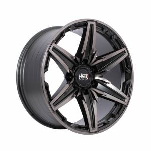 HSR Bagang HJA068 Ring 20x9 H6x139,7 ET10 Matte Black Oil Face1