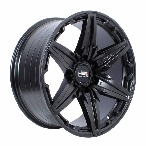 HSR Bagang HJA068 Ring 20x9 H6x139,7 ET10 Semi Matte Black1