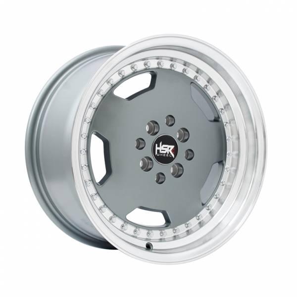HSR Goethe H1639 Ring 16x7-8 H8x100-114,3 ET42-38 Grey Machine Lips1