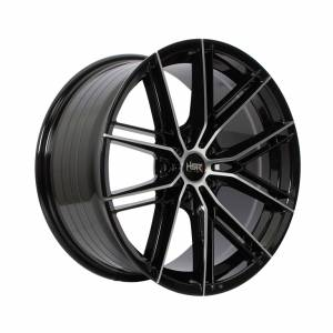 HSR Sengkang HJA018 Ring 18x8-9 H5x114,3 ET42-40 Black Machine Face1