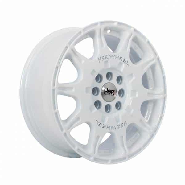 HSR WRX H1072 Ring 16x7 H8x100-114,3 ET45 White1