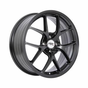 HSR Wurzburg F1 1009 Ring 17x7 H4x100 ET45 Semi Matte Black1