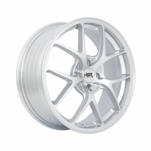 HSR Wurzburg F1 1009 Ring 17x7 H4x100 ET45 Silver1