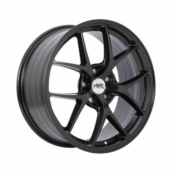 HSR Wurzburg F1 1009 Ring 18x8 H5x114,3 ET45 Semi Matte Black1