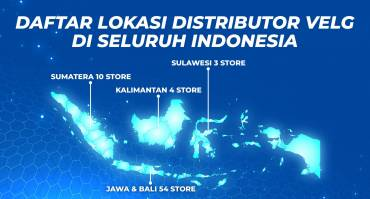 Daftar Lokasi Distributor Velg Mobil di Indonesia