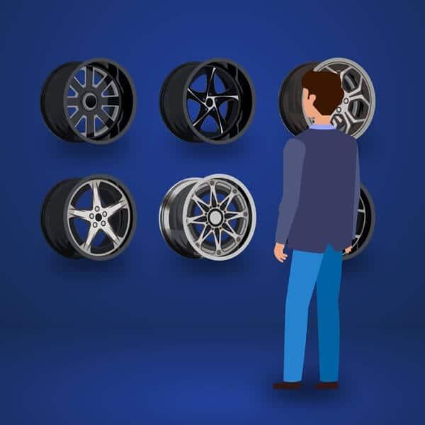 Kredit Velg Mobil HSR Wheel 4