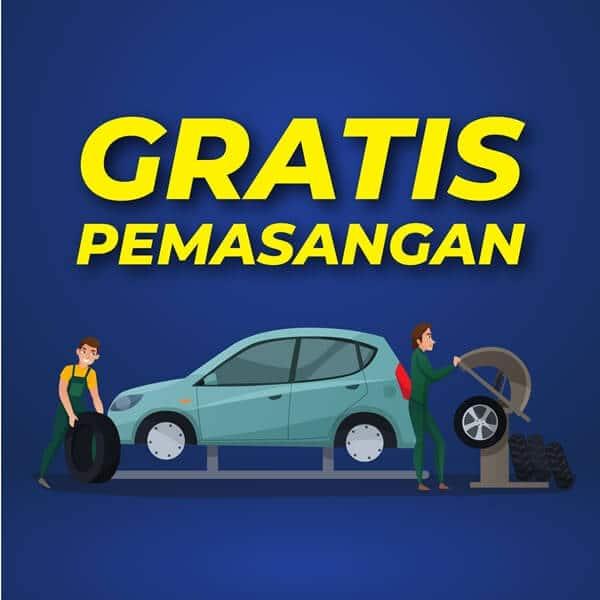 Kredit Velg Mobil HSR Wheel 5