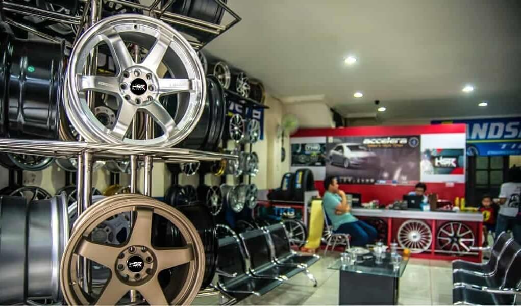 Tukar Tambah Velg Mobil di Toko Time Attack Bogor