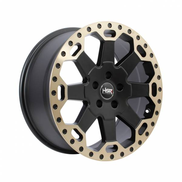 HSR BAHOROK H BW200 HSR Ring 18x8 H5x114,3 ET35 Matte Black Bronze Machine Lips1