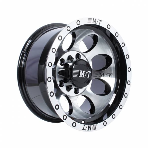 HSR Duffy 8061 Ring 15x10 H5x139,7 ET-44 Black Machine Face1