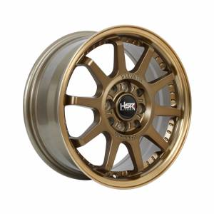 HSR Gymkana BOROKO01 Ring 15x6,5 H8x100-114,3 ET42 Semi Matte Bronze Machine Lips1