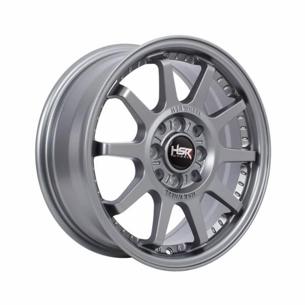 HSR Gymkana BOROKO01 Ring 15x6,5 H8x100-114,3 ET42 Semi Matte Grey1