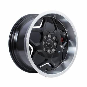 HSR MYTH04 Ring 16x7-8 H8x100-114,3 ET40-35 Black Machine Lips1