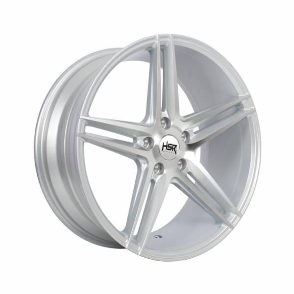 HSR NE5 H580 Ring 19x8,5 H5x114,3 ET45 Silver Machine Face1