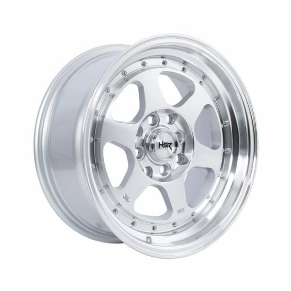 HSR Rumoi JD8659 Ring 15x7-8 H8x100-114,3 ET35-30 Silver Machine Face Lips1