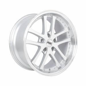 HSR Shoji H55453 Ring 17x7,5-8,75 H5x114,3 ET35-25 Silver Machine Face1