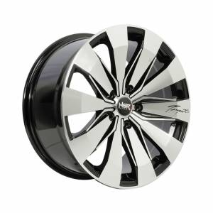 HSR Tempest JD83 Ring 18x8,5 H5x114,3 ET45 Black Machine Face1