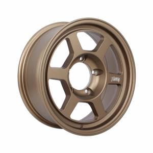 HSR Tokyo H61143 Ring 16x6,5 H5x139,7 ET10 Semi Matte Bronze1