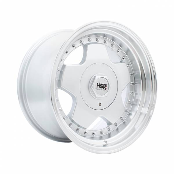 HSR Aachen H248 Ring 16x8-9 H8x100-114,3 ET30-25 Silver Machine Lips1