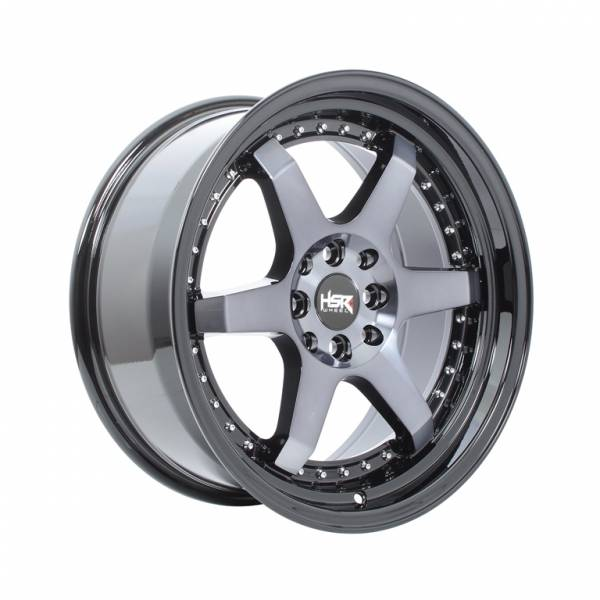 HSR Borgo 8081 Ring 17x7,5-8,5 H8x100-114,3 ET40-35 Black Machine Face Black Lips1