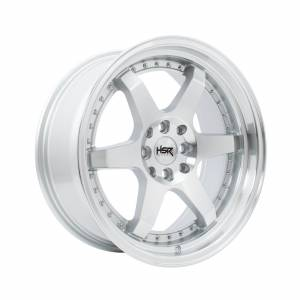 HSR Borgo 8081 Ring 17x7,5-8,5 H8x100-114,3 ET40-35 Silver Machine Face Lips1