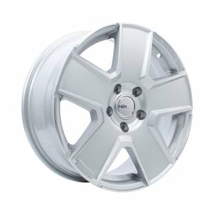 HSR Kwoor JD807 Ring 17x7 H5x114,3 ET45 Silver Machine Face1