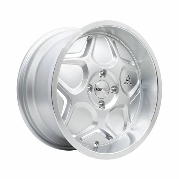 HSR MYTH04 Ring 16x7-8 H4x100 ET40-35 Silver Macine Lips1