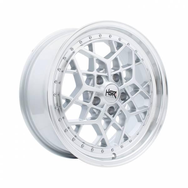 HSR MYTH06 Ring 17x7,5 H5x114,3 ET40 Silver Machine Lips1