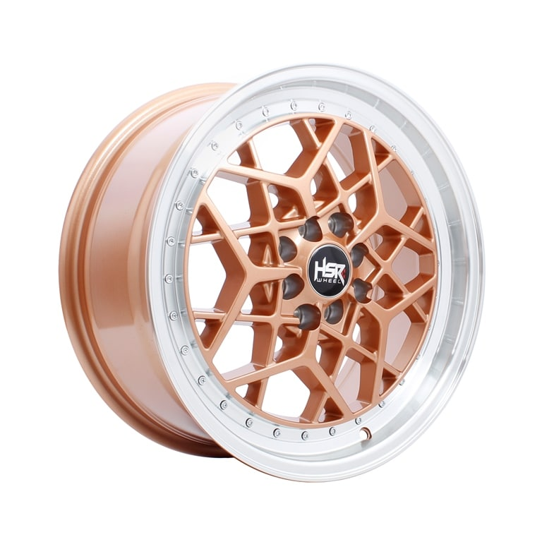 HSR MYTH06 Ring 17x7,5 H8x100-114,3 ET40 Pink Gold Machine Lips1