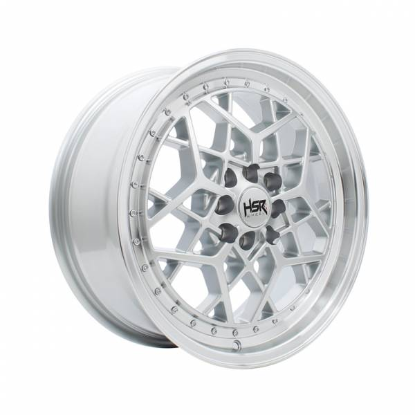 HSR MYTH06 Ring 17x7,5 H8x100-114,3 ET40 Silver Machine Lips1
